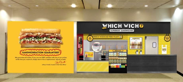 Which Wich Storefront in Houston